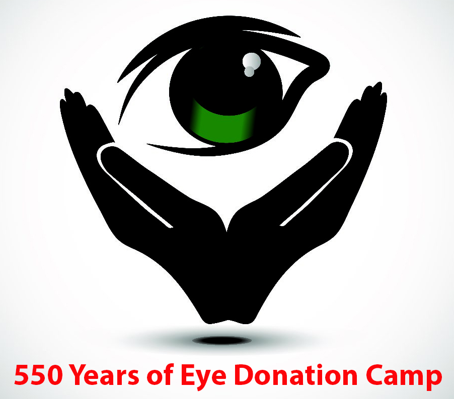 550 years of eye donation camp